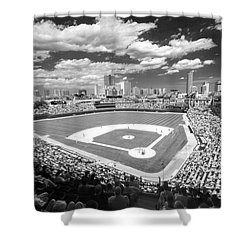 0416 Wrigley Field Chicago Shower Curtain
