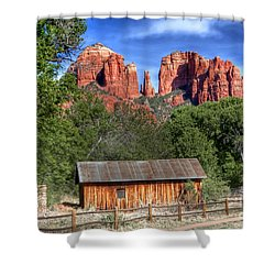 0682 Red Rock Crossing - Sedona Arizona Shower Curtain