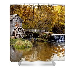0722 Hyde's Mill Shower Curtain by Steve Sturgill