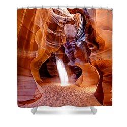 0728 Upper Antelope Canyon - Arizona Shower Curtain