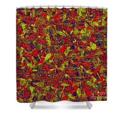0196 Abstract Thought Shower Curtain by Chowdary V Arikatla