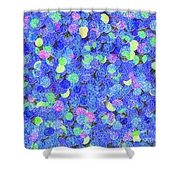 0209 Abstract Thought Shower Curtain