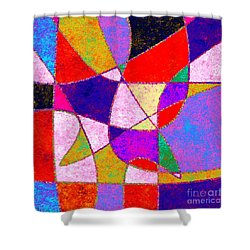 0269 Abstract Thought Shower Curtain