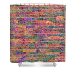 0310 Abstract Thought Shower Curtain