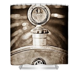 1913 Chalmers Model 18 Jordan Motometer Shower Curtain by Jill Reger