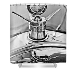 1923 Ford Model T Hood Ornament Shower Curtain by Jill Reger