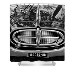 1952 Ferrari 212 Vignale Front End Shower Curtain by Jill Reger