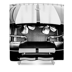 1965 Shelby Cobra Grille Shower Curtain by Jill Reger