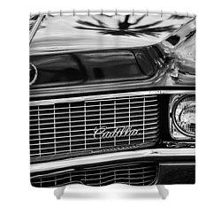 1969 Cadillac Eldorado Grille Shower Curtain by Jill Reger