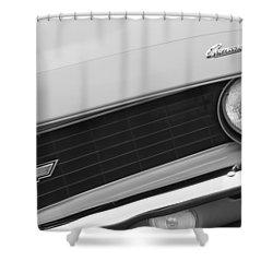 1969 Chevrolet Camaro Copo Replica Grille Emblems Shower Curtain by Jill Reger