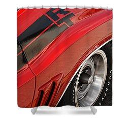 1970 Dodge Challenger R/t Shower Curtain by Gordon Dean II