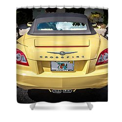 2008 Chrysler Crossfire Convertible  Shower Curtain