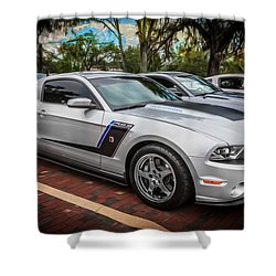 2012 Ford Roush Stage 3 Mustang Rs3 Painted  Shower Curtain