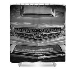 2013 Mercedes Sl Amg Shower Curtain by Rich Franco