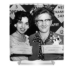 64000 Dollar Question 1955 Shower Curtain by Granger