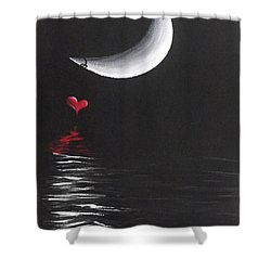 A Love Story No 13 Shower Curtain