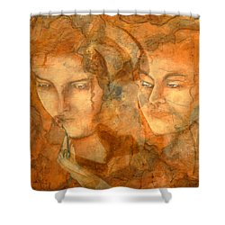 A Love That Will Never Fade  Shower Curtain