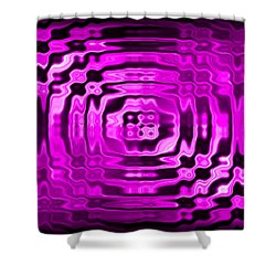 Abstract 134 Shower Curtain by J D Owen