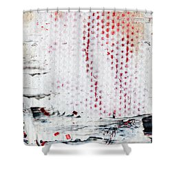 Abstract Original Artwork One Hundred Phoenixes Untitled Number Ten Shower Curtain