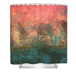 Abstract Print 2 Shower Curtain by Filippo B