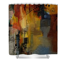 Abstract Tarot Art 013 Shower Curtain by Corporate Art Task Force