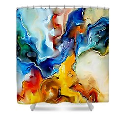 Abstraction 599-11-13 Marucii Shower Curtain