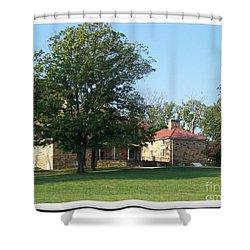 Adena Mansion Shower Curtain