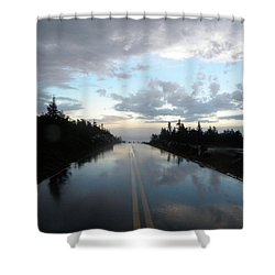After The Storm Shower Curtain by James Petersen