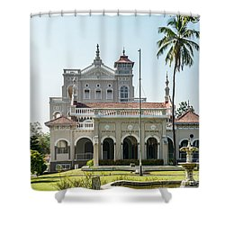Aga Khan Palace Shower Curtain