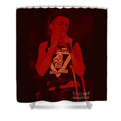 Alice Cooper At The Concord Pavillion Shower Curtain