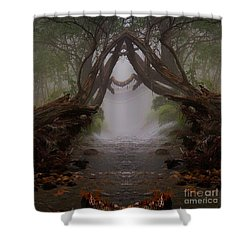 An Enchanted Place Shower Curtain