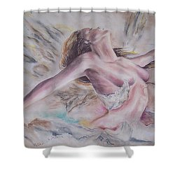 Angel Burst Shower Curtain