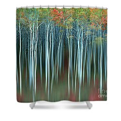 Army Of Trees Shower Curtain