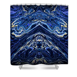 Art Series 1 Shower Curtain by J D Owen