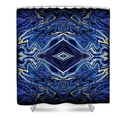 Art Series 3 Shower Curtain by J D Owen