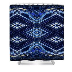 Art Series 6 Shower Curtain by J D Owen