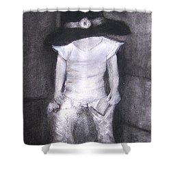 Aspiring Cowboy Shower Curtain