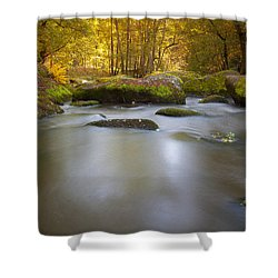 Waldnaab Tal  Shower Curtain