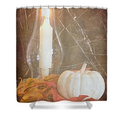 Shower Curtain featuring the photograph Autumn Light by Heidi Smith