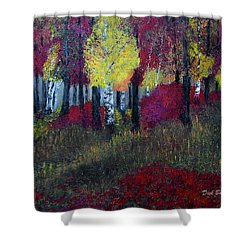 Autumn Peak Shower Curtain