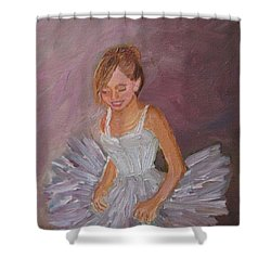 Ballerina 2 Shower Curtain