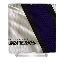 Baltimore Ravens Uniform Shower Curtain