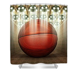 Basketball Museum Shower Curtain