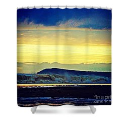 Bass Coast Shower Curtain