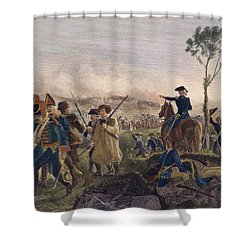 Battle Of Bennington, 1777 Shower Curtain by Granger
