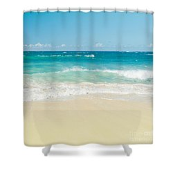 Shower Curtain featuring the photograph Beach Love by Sharon Mau