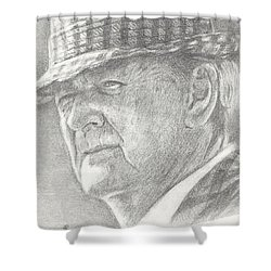 Bear Bryant Shower Curtain