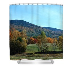 Shower Curtain featuring the photograph Belknap Mountain by Mim White