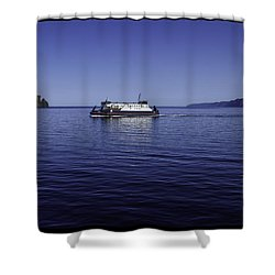 Bell Island Ferry  Shower Curtain