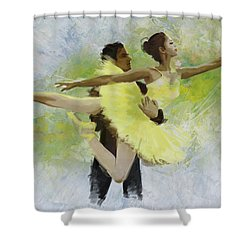 Belly Dancers Shower Curtain by Corporate Art Task Force
